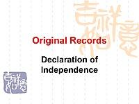 original record 1