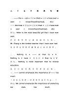 写作35个经典句型