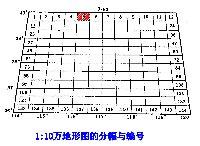 1:10万地形图的分幅与编号