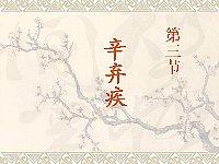 中国古代文学_刘新文_第3节辛弃疾