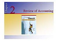 财务管理_杨淑娥_Review of Accounting