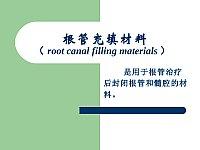 口腔材料学_王少安_根管充填材料